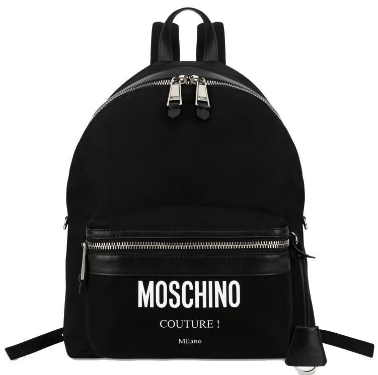 MOCHILA MOSCHINO COUTURE MILANO